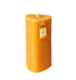 Dipam Dipam triangular candle 9 x 17 cm