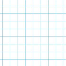 Mercurius Exercise book 16x21cm with large graph -10x10mm  (blue only)
