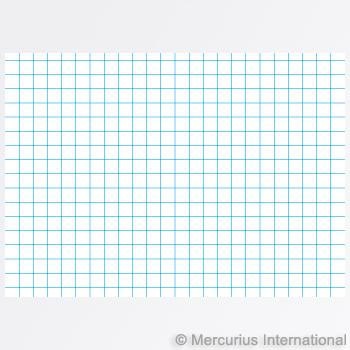 Mercurius Composition book 21x30cm - graph 5mm blue cover