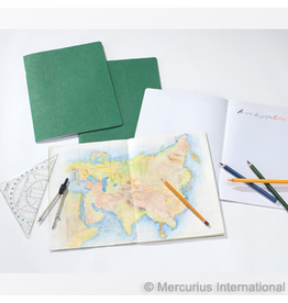 Mercurius Composition book 24x32cm - geography