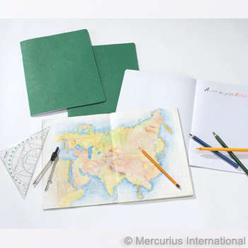 Mercurius Composition book 24x32cm - geography