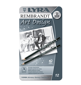 Lyra Lyra Art Design drawing pencils ass. 12 pcs 6B..4H