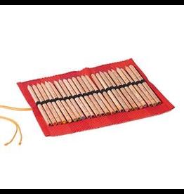Mercurius Roll up pencil case for 24 colour giants