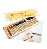 Stockmar Stockmar stick crayons 24 assorted wood box