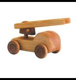 Debresk Debresk wooden toy - small fire engine