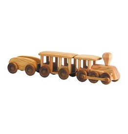 Debresk Debresk wooden toy - train 3 PC