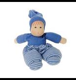 Nanchen Nanchen Mopschen doll small , blue -28 cm (11 inch)