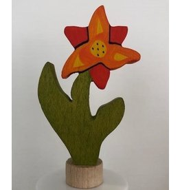 Grimm's Handcoloured deco lily