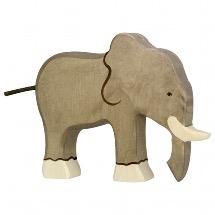Holztiger Elephant