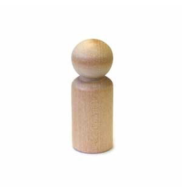 "Stockade Supply Wood Peg Person Medium 2-5/16"" 2 pc"