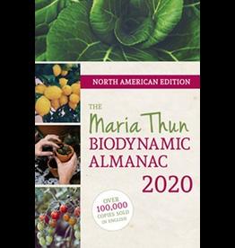 Floris Books The Maria Thun Biodynamic Almanac 2020<br /> North American Edition