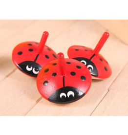 Beck Ladybug spinning top small