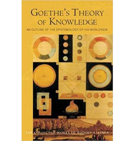 Steiner Books Goethe's Theory Of Knowledge: An Outline Of The Epistemology Of His Worldview (CW 2)