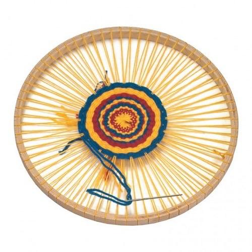 Gluckskafer Circular weaving frame