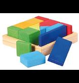 Gluckskafer Construction kit: Quadrat mixed shapes