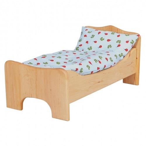 Gluckskafer Wood Doll's Bed - Gluckskafer