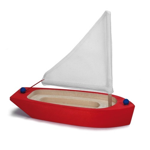 Gluckskafer Sailing Boat, Red