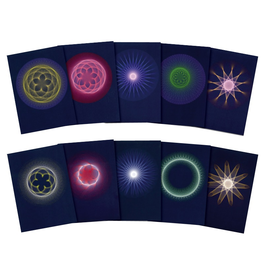Wynstones Press Planetary Rhythms: Geocentric and Heliocentric - Set of 10 postcards