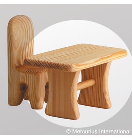 Debresk Debresk wooden toy - doll table