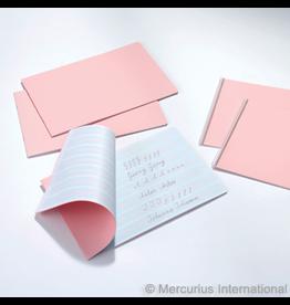 Mercurius Handwriting practice book 2 sided 30x21cm wide pink
