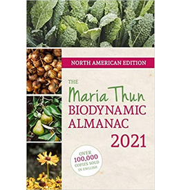 Floris Books The Maria Thun Biodynamic Almanac 2021<br /> North American Edition