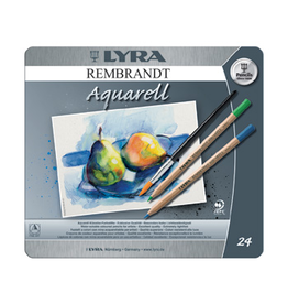 Aquarelle Lyra Rembrandt aquarelle pencil - 24 assorted