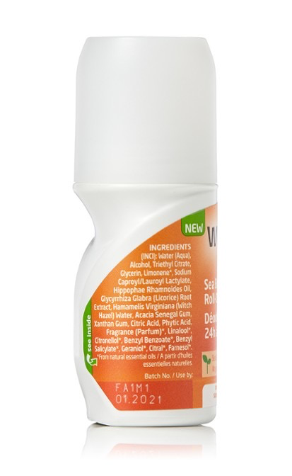 Weleda 24H Roll-on Deodorant, Seabuckthorn, 50ml