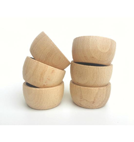 Grapat Wood Natural Bowls 6 pcs