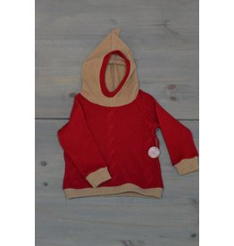 Wooly Way Woolens Child Hoodie - Upcycled Wool 1-2 years