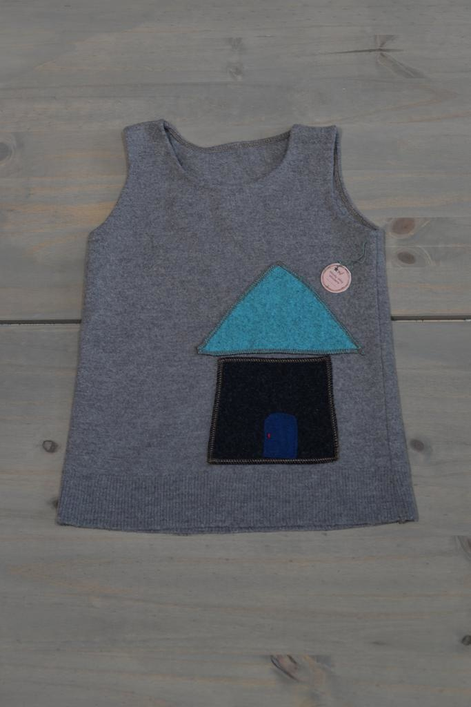 Wooly Way Woolens Child Vest - Upcycled Wool