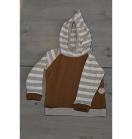 Wooly Way Woolens Child Hoodie - Upcycled Wool 2-3 years