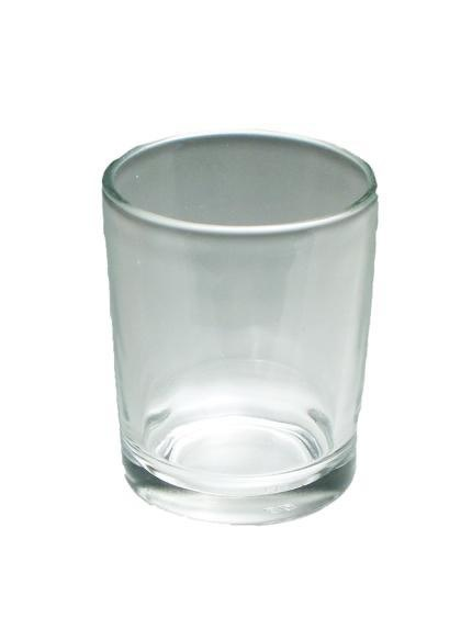 Honey Candles Votive Cup, clear