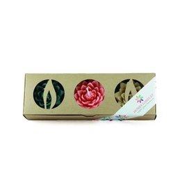 Honey Candles Lotus Blossoms – Hopeful, Beeswax