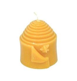 Honey Candles Peek a Bee Pillar, Beeswax Candle