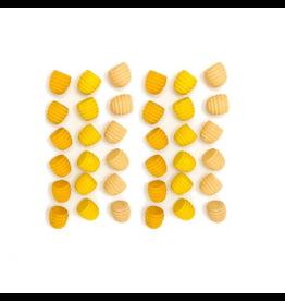 Grapat Wood Mandala Honeycombs 36 pcs (Yellows)