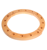 Grimm's Wooden Birthday Ring - natural - 16yrs