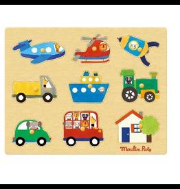 Moulin Roty Popipop - transport puzzle