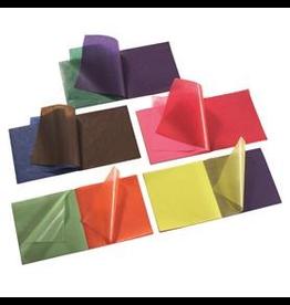 Mercurius Kite Paper 22x22cm 100 sheets assorted colours