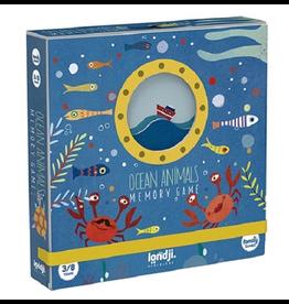 Memory Game - Ocean Animals