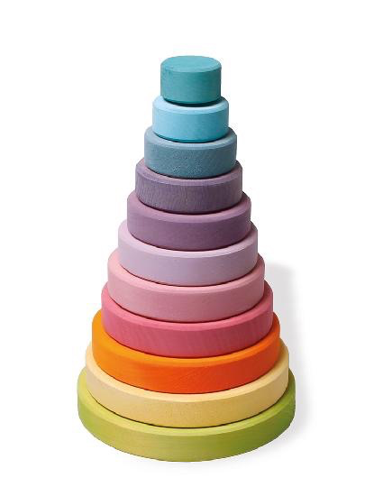 Grimm's Large Conical Tower PASTEL