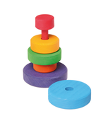 Grimm's Conical Tower Small, Multi-Coloured