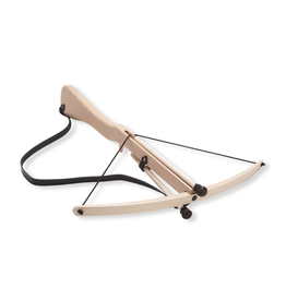 Fantashion Crossbow with leather strap & 2 arrows, large