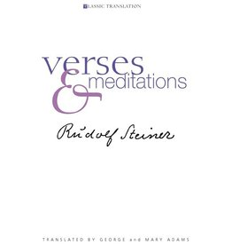 Rudolf Steiner Press Verses And Meditations