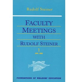 Steiner Books Faculty Meetings With Rudolf Steiner: (2 Volumes Cw 300a/B)