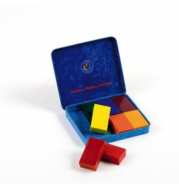 Stockmar Stockmar Block Crayons 8 Assorted Waldorf Mix