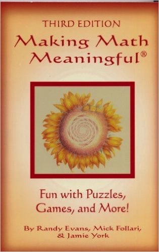 Jamie York Press Making Math Meaningful: Fun with Puzzles, Games and More, 4th ed.
