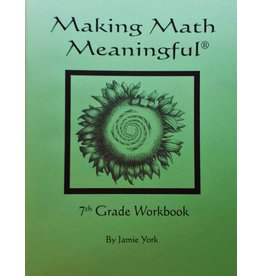 Jamie York Press Making Math Meaningful: A 7th Grade Student's Workbook