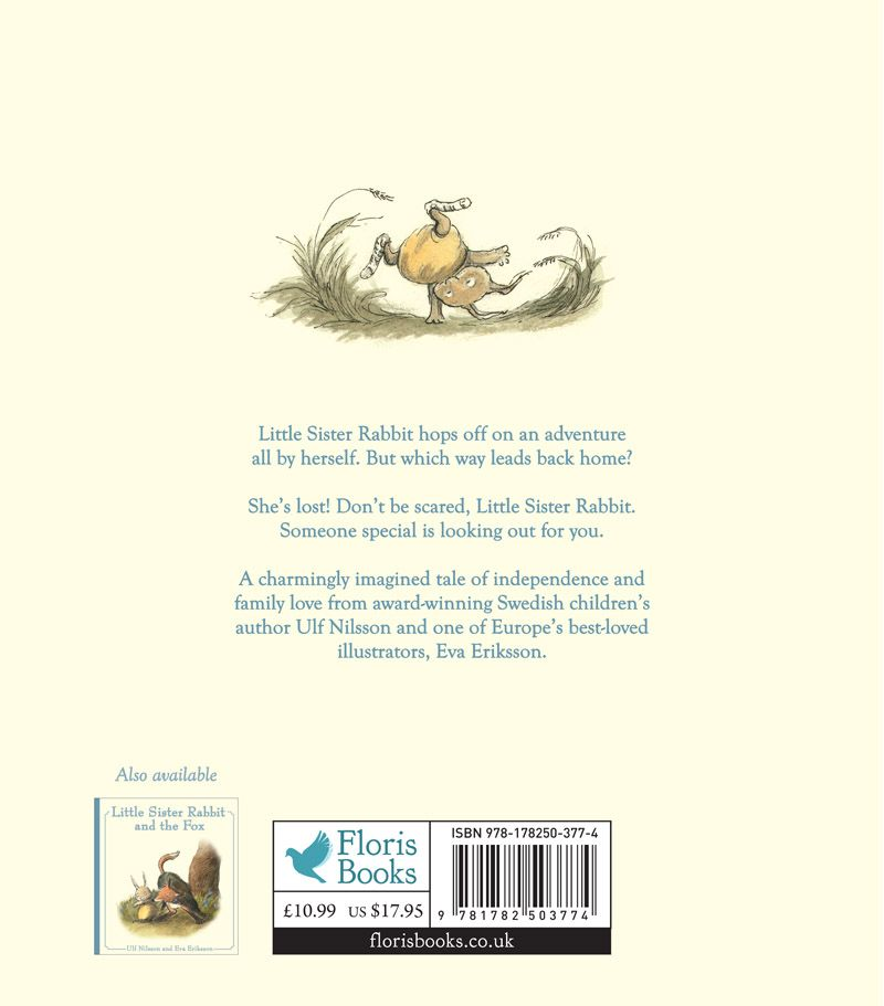 Floris Books Little Sister Rabbit Gets Lost
