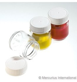 Mercurius Paint jar with lid 50ml