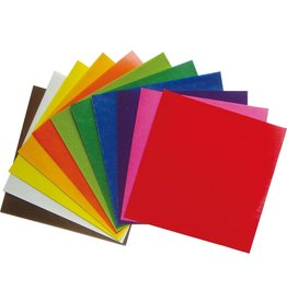Mercurius Kite paper 16 x16 cm assorted 10 colour 100 sh
